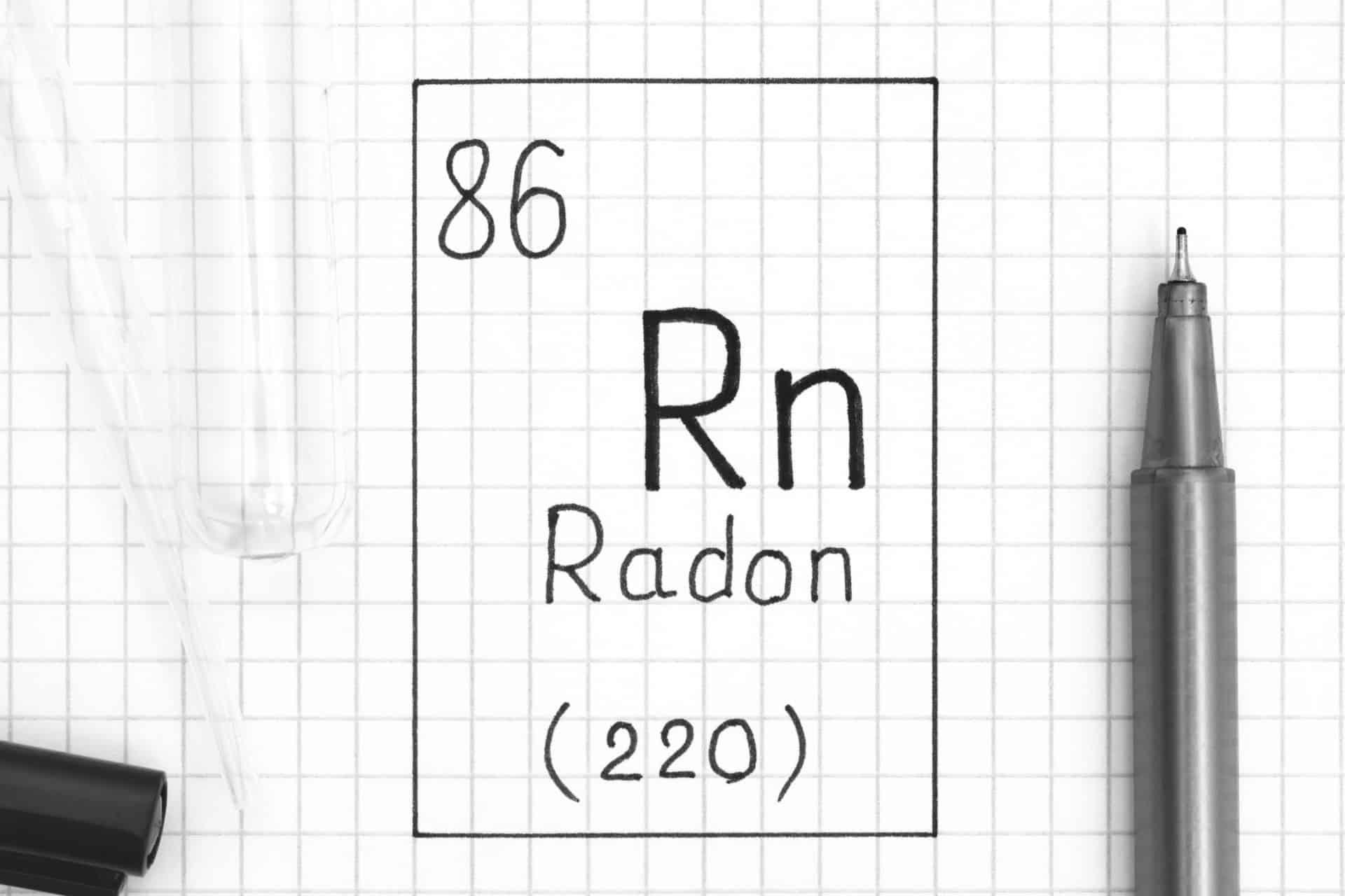 Radon Gas Periodic Table